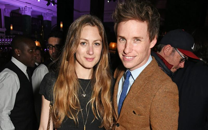 Eddie Redmayne with his wife Hannah Bagshawe - Getty Images Europe
