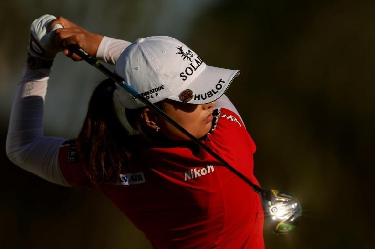 Ko Jin-young of South Korea on the way to the 36-hole lead in the LPGA Tour Championship in Naples, Florida