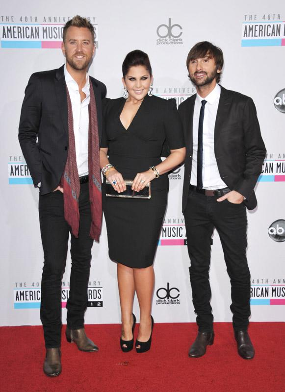 Lady Antebellum 40th Annual American Music Awards Los Angeles, CA