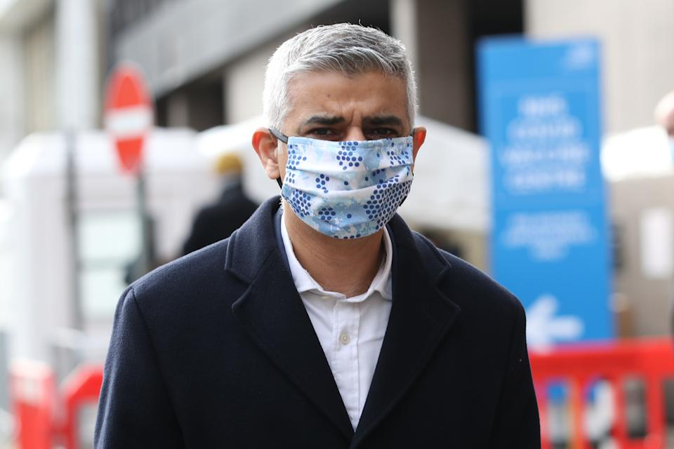 Mayor of London Sadiq Khan. Photo: PA