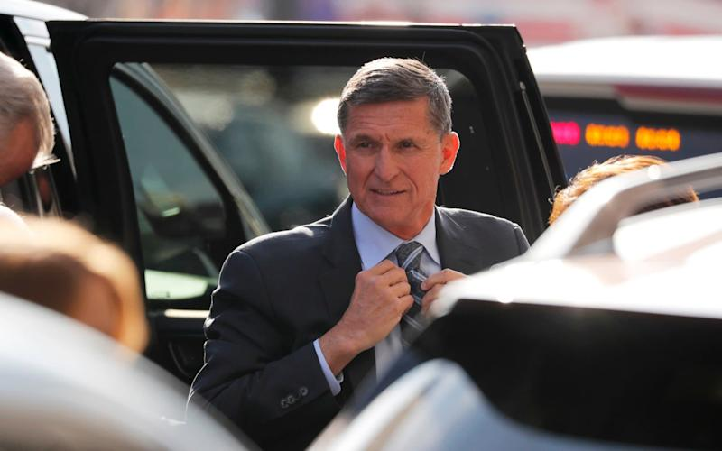 Michael Flynn pleaded guilty to lying to the FBI over his links to Russia - REUTERS