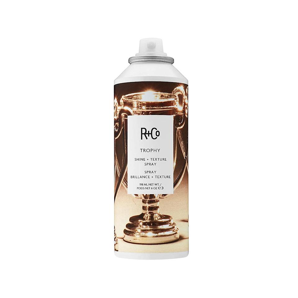 """Another great option for pretending you did your hair. $32, Amazon. <a href=""""https://www.amazon.com/Co-Trophy-Shine-Texture-Spray/dp/B01N4WSNA5/ref=sr_1_1?"""" rel=""""nofollow noopener"""" target=""""_blank"""" data-ylk=""""slk:Get it now!"""" class=""""link rapid-noclick-resp"""">Get it now!</a>"""