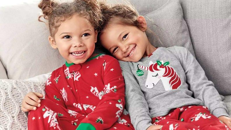 The best time to buy children's clothing is when it's on sale.