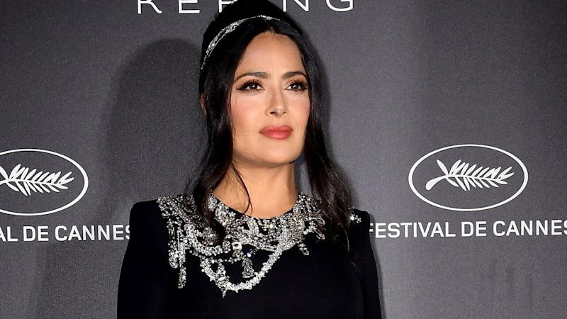 Salma Hayek Reveals Top Secret Phone Call From Meghan Markle Asking Her to Be Part of 'British Vogue' Cover