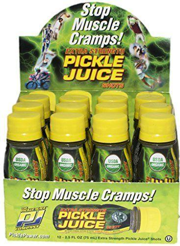 """<p><strong>Pickle Juice</strong></p><p>amazon.com</p><p><strong>$19.99</strong></p><p><a href=""""https://www.amazon.com/dp/B015TJGG9U?tag=syn-yahoo-20&ascsubtag=%5Bartid%7C1782.g.3798%5Bsrc%7Cyahoo-us"""" rel=""""nofollow noopener"""" target=""""_blank"""" data-ylk=""""slk:BUY NOW"""" class=""""link rapid-noclick-resp"""">BUY NOW</a></p><p>For the people that LOVE pickleback shots. Or, you know, are athletes.</p>"""