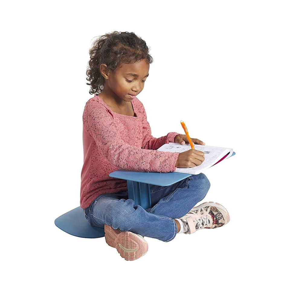 """<p>""""This year, we want to have multiple locations for the girls to work. This <span>The Surf Portable Lap Desk</span> ($35) is light enough for my 7-year-old to carry from room to room or even outside if she wants! It's also affordable and comes in many colors."""" - Lisa Sugar, president</p>"""