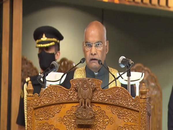 President Ram Nath Kovind while addressing the 19th Annual Convocation of the University of Kashmir