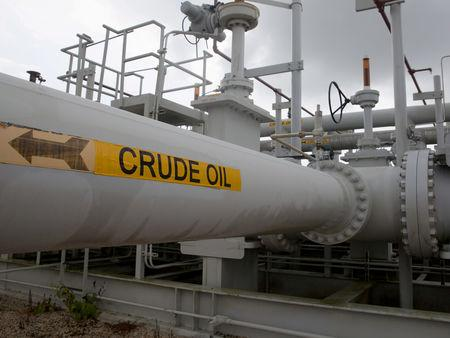 Oil falls as US maintains record output, inventories climb