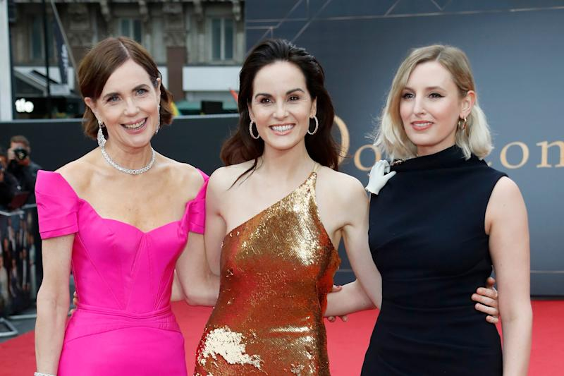 Elizabeth McGorvern, Michelle Dockery and Laura Carmichael (Dave Benett/WireImage)