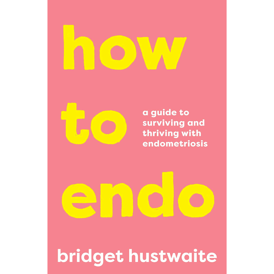 The pink cover of 2021 Australian book how to endo