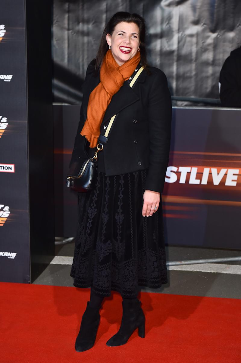 Kirstie Allsopp attending the World Premiere of Fast & Furious Live, held at the 02, Peninsula Square, London. Picture date: Friday January 19th, 2018. Photo credit should read: Matt Crossick/ EMPICS Entertainment.
