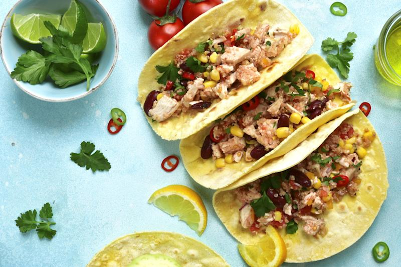 Plate of tacos