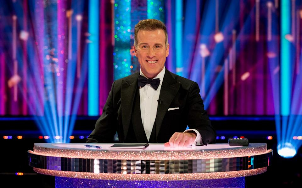 Anton Du Beke takes his place on the panel