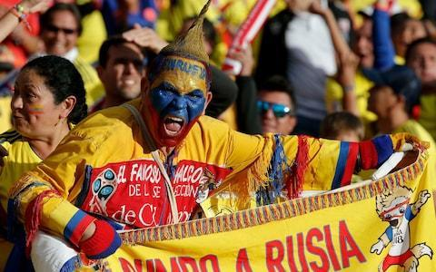 "Colombia's 2018 World Cup squad is thoroughly analysed below. This is your guide to everything you need to know about the players who will be representing their country at the tournament, when their games are taking place, who is in charge of the team, the key men to watch and how they're likely to fare in Russia. To read our comprehensive guide simply register with the Telegraph and log in to your account. Colombia's World Cup squad - the 23 names 23-man final squad: Goalkeepers: David Ospina (Arsenal), Camilo Vargas (AC Deportivo Cali), Jose Fernando Cuadrado (CD Once Caldas). Defenders: Cristian Zapata (AC Milan), Oscar Murillo (CF Pachuca), Santiago Arias (PSV Eindhoven), Yerry Mina (Barcelona), Johan Mojica (Girona FC), Frank Fabra (CA Boca Juniors), Davinson Sanchez (Tottenham Hotspur). Midfielders: Wilmar Barrios (CA Boca Juniors), Carlos Sanchez (RCD Espanyol), Abel Aguilar (AC Deportivo Cali), James Rodriguez (Bayern Munich), Juan Guillermo Cuadrado (Juventus), Mateus Uribe (Club America), Jefferson Lerma (Levante), Juan Fernando Quintero (CA River Plate). Forwards: Carlos Bacca (Villarreal), Radamel Falcao Garcia (Monaco), Luis Muriel (Sevilla), Miguel Borja (SE Palmeiras), Jose Izquierdo (Brighton & Hove Albion). Colombia fans bring the colour Credit: ap Colombia's World Cup 2018 fixtures Japan: Tuesday, June 19 at 1pm Poland: Sunday, June 24 at 7pm Senegal: Thursday, June 28 at 3pm What odds are Colombia to win the World Cup? 40/1 Betway The kits See where Colombia's shirts ends up in our ranking of all 64 World Cup shirts below: World Cup kits ranked Who's the coach? Jose Pekerman. The 68-year-old comes from the Arsene Wenger school of professorial coaches, with a penchant for patient - some might say laborious - possession football. Who's the star? James Rodriguez. Has been revitalised by his move to Bayern Munich after a miserable spell at Real Madrid, scoring eight and delivering 14 assists last season. Best thing about them Pace on the counter-attack and a reasonably tight defence. Worst thing about them Goals are hard to come by - they scored only 21 in 18 qualifiers. You may recognise... There is a north London look about their defence - with David Ospina in goal and Davison Sanchez at centre-half - while Radamel Falcao, so underwhelming in England, still plugs away up front. Cameramen will be picking out... Any giant insects that take a liking to James, who spawned a million memes after being alighted on by a fearsome-looking grasshopper during Brazil 2014. World Cup 2018 | All you need to know Fans' favourite chant A patriotic bunch, Colombia enjoy belting out the national anthem - ""Oh Gloria Inmarcesible!"" ('Oh, unfading glory') at appropriately stirring moments. On-field prediction Not as stylish as Brazil, or starry as Argentina, but could go just as far as both. Off-field prediction Shakira to release a wretched World Cup song which sounds like it has been written via Google translate. Full 2018 World Cup squad lists and guides 