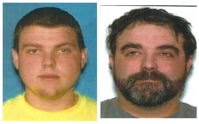FILE - This document provided by the Clinton County Missouri Sheriff's Department shows brothers  Justin Diemel, left, and Nick Diemel, were reported missing July 21, 2019 and are presumed dead. Missouri cattle farmer Garland Nelson was charged Wednesday, Oct. 23, 2019 with two counts of first-degree murder in the deaths of the two missing brothers from Wisconsin.  (Clinton County Missouri Sheriff's Department via AP, File)