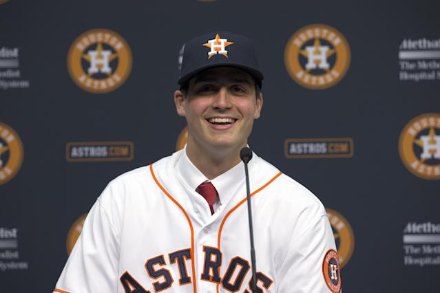 Mark Appel was drafted first overall by the Astros in 2013, and five years later he's leaving baseball without reaching the majors. (AP Photo)