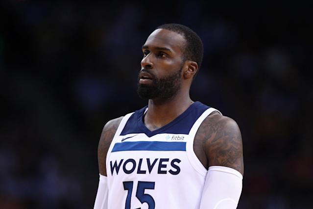 """<a class=""""link rapid-noclick-resp"""" href=""""/nba/players/5165/"""" data-ylk=""""slk:Shabazz Muhammad"""">Shabazz Muhammad</a> thinks about how good it's going to feel to shed all those excess letters. (Getty)"""