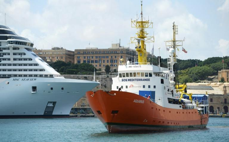 The Aquarius was at the centre of a European diplomatic crisis in June