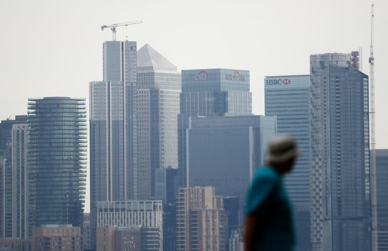 Britons slowly returning to workplaces, statistics office says