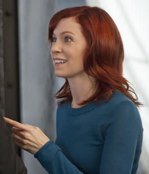 """""""Til Death"""" -- The machine flashes back to Finch (Michael Emerson) and his one-time love, Grace (Carrie Preston), on PERSON OF INTEREST, Thursday, Nov. 29 (9:01 - 10:01 PM, ET/PT) on the CBS Television Network. Photo: John Paul Filo/CBS ..2012 CBS Broadcasting Inc. All Rights Reserved."""
