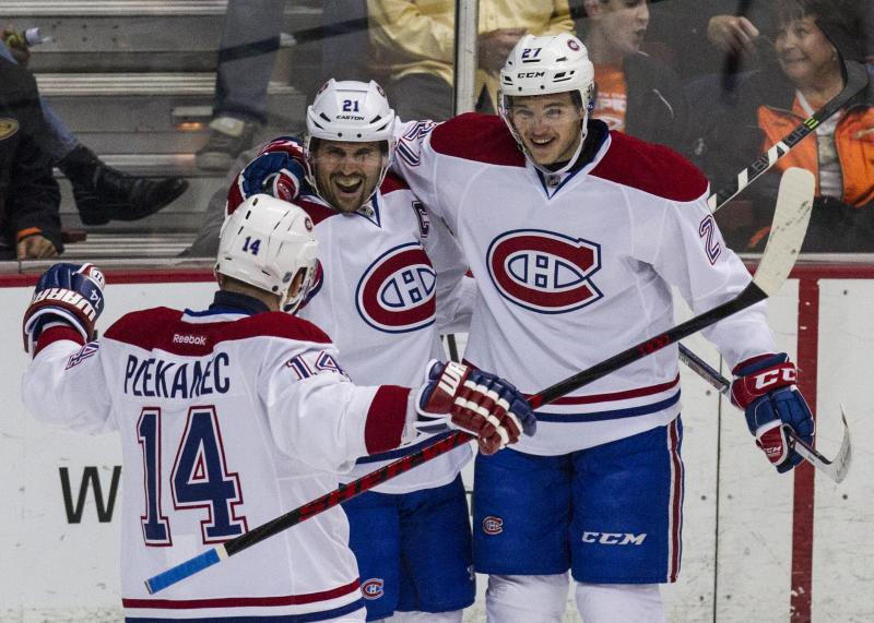 Canadiens outlast Ducks 4-3 for shootout victory