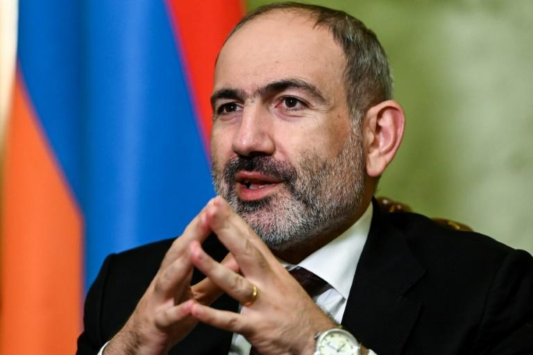 (FILES) In this file Pashinyan was propelled to power after he channelled widespread desire for change into a broad protest movement against corrupt post-Soviet elites.