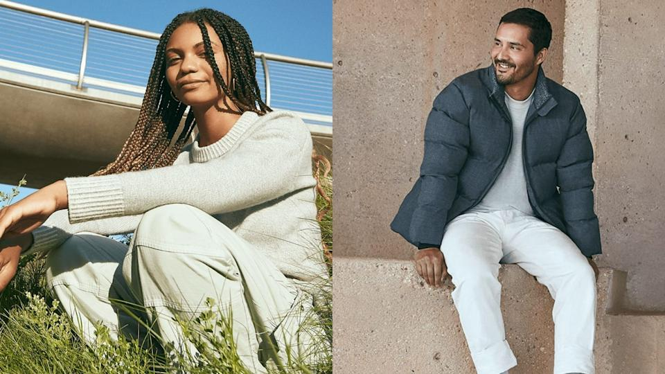 Allbirds has released their first line of clothing for both men and women.