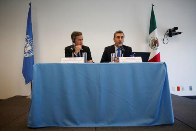 U.N. rights team warns Mexico of 'crisis' in journalists' safety
