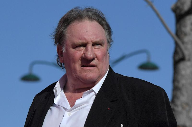 French actor Gerard Depardieu has responded to questions from police about allegations that he raped a young actress, which he strongly denies