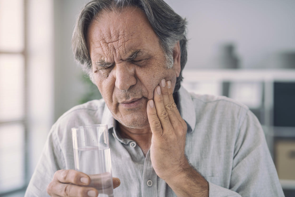 Cold water and tooth pain
