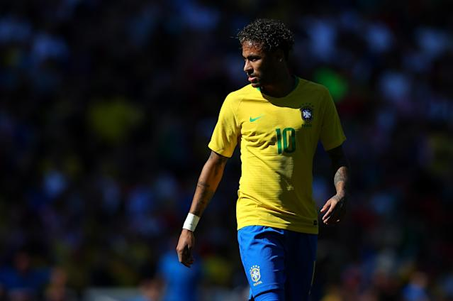 Neymar is arguably the best player in the world, but is he inessential to the best national team? (Getty)