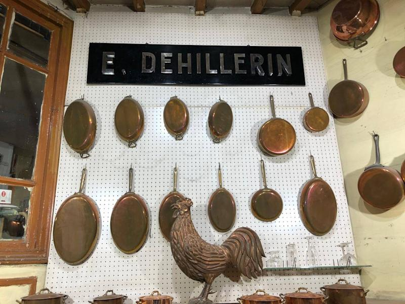 E. Dehillerin is an iconic cookware shop (Lindsey Johnstone)