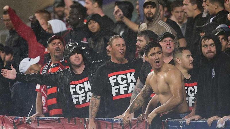 Wanderers supporters to boycott remaining games. Pic: Getty