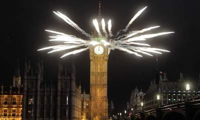 New Year's Reprieve: Rain Clears For 2013