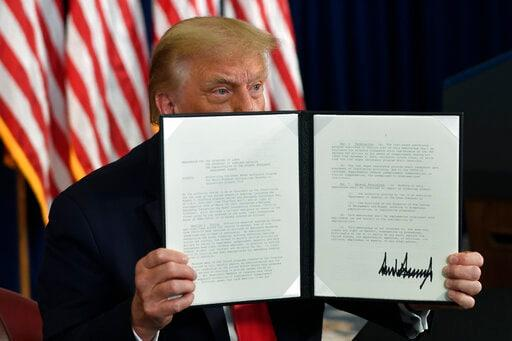 Trump's pandemic relief orders are limited in scope