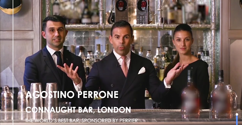 World's 50 Best Bars are named with London hotel bar coming in at number one