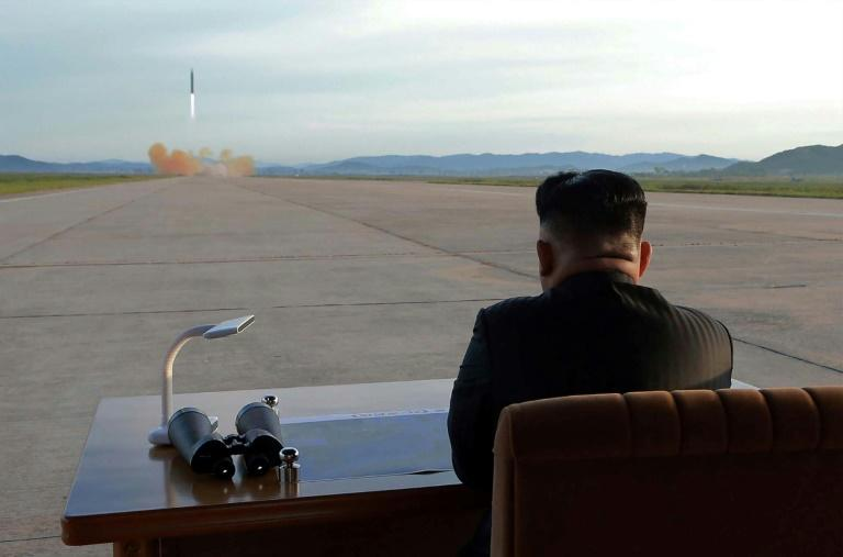 Preparing for lift-off? Kim's declared end to missile launches and rocket tests was accompanied by a claim that Pyongyang would now concentrate on growing its struggling economy