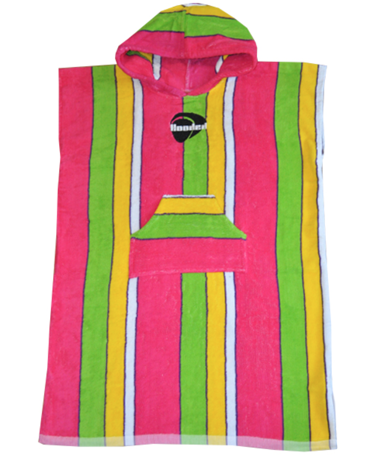cotton terry hooded towel