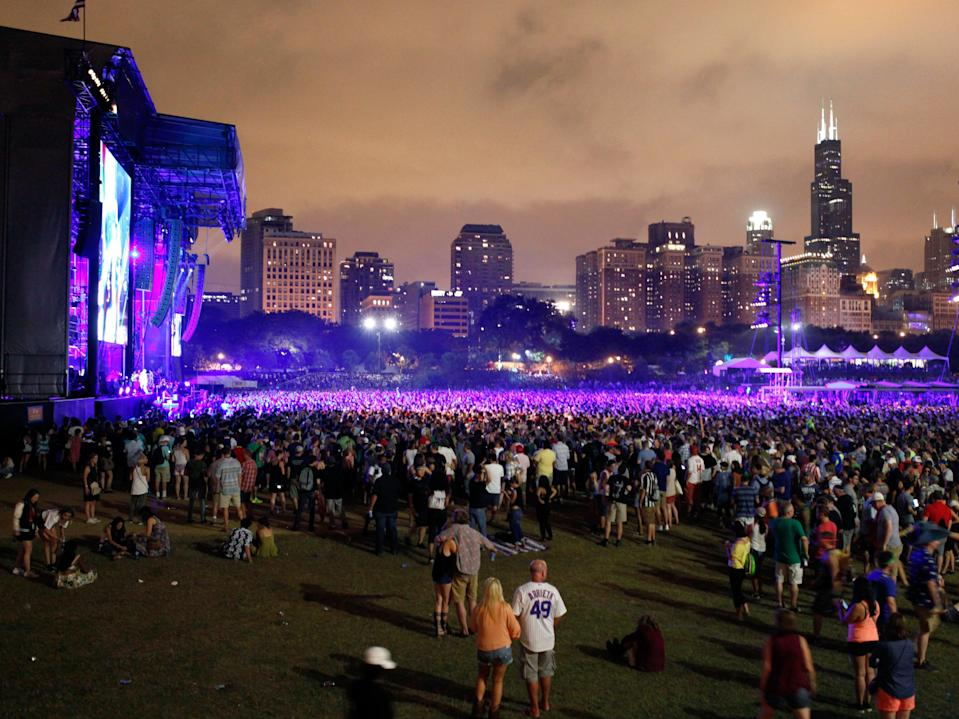 Lollapalooza in 2016 (Getty Images for Samsung)