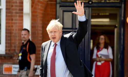 """The prime minister has been wooing the public, but the return of parliament could bring him crashing back down to earth. Three years ago, Boris Johnson was the butt of the joke among Conservative MPs. After his spectacular failure to become prime minister, he was thrown a political lifeline by Theresa May making him foreign secretary, yet there was little evidence that theirs was a relationship of mutual respect. At her first Conservative party conference as prime minister, May used her keynote speech to poke fun at his reputation for being a chaotic and inconsistent politician. """"When we came to Birmingham this week, some big questions were hanging in the air. Do we have a plan for Brexit? We do. Are we ready for the effort it will take to see it through? We are. Can Boris Johnson stay on message for a full four days … ? Just about."""" With the gift of hindsight, alternative answers are required on all counts. May's government did not have a plan for leaving the EU; her party was divided on how much effort should be put into seeing Brexit through; and Johnson's ability to stay on message has been the biggest surprise of his premiership to date. Saturday marks Johnson's first month in Downing Street – and the mood in the Tory party is one of renewed optimism. The Conservatives are on the up, with a Kantar poll this week giving them a 14-point lead. Johnson has just held two meetings with EU leaders that appeared to open the door for Brexit renegotiations – something that had been deemed impossible. Back home in the UK, Downing Street is running with a level of efficiency and discipline far removed from the chaotic end days of May. This wasn't how it was supposed to play out. A Johnson premiership was something many on the right of politics – as well as the left – had warned against. There were predictions of chaos and endless bluster. Instead, the first four weeks have delivered a tightly run government with clear messages: to deliver Brexit by 31 October, to fund the """