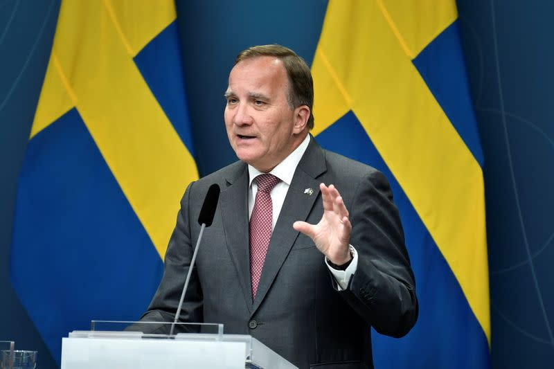 FILE PHOTO: Sweden faces possible government crisis