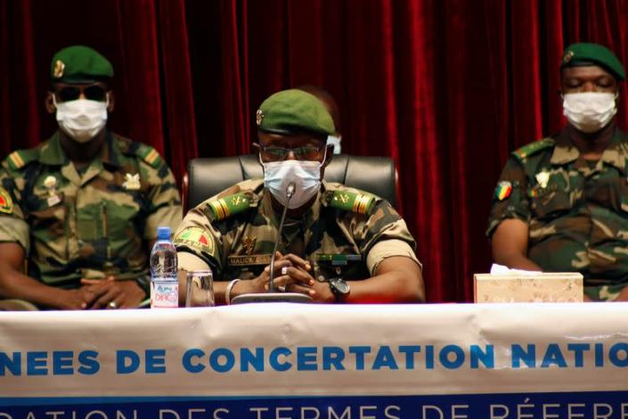 Mali junta meets political leaders about shape of post-coup transition