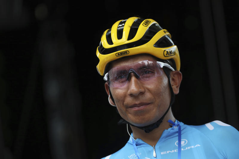 NAIRO QUINTANA-ACCIDENTE