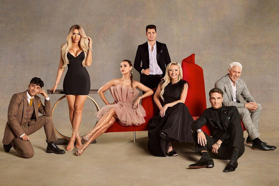 <p>The cast of Celebs Go Dating</p> (Channel 4)