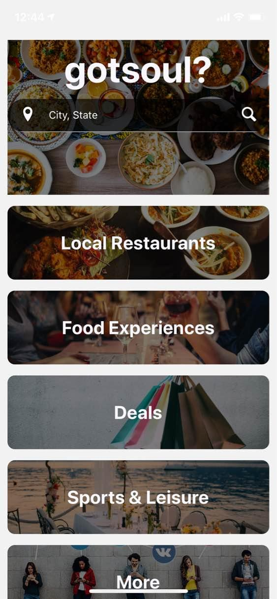 """<h3>Got Soul?</h3><br>GotSoul? is a restaurant guide and food experiences app that features over 4,300 African-inspired restaurants and dining experiences. Find Cajun food, Creole food, Nigerian food, Gullah food, Jamaican food, Afro-Brazilian food, and more near you. <a href=""""https://www.weny.com/story/42224125/gotsoul-app-launched-to-make-it-easier-for-consumers-to-find-african-inspired-cuisine-restaurants-and-experiences-around-the-world"""" rel=""""nofollow noopener"""" target=""""_blank"""" data-ylk=""""slk:According to WENY News"""" class=""""link rapid-noclick-resp"""">According to WENY News</a>, 98% of the restaurants and experiences found on the app are Black-owned. In addition to being a guide, Got Soul? also offers time-based discounts every day. Simply pick a restaurant or food experience, click, and get a digital coupon or voucher that can be redeemed instantly. <br><br><a href=""""https://apps.apple.com/us/app/got-soul-app/id1513621094"""" rel=""""nofollow noopener"""" target=""""_blank"""" data-ylk=""""slk:Download Got Soul? on iOs"""" class=""""link rapid-noclick-resp""""><strong>Download Got Soul? on iOs</strong></a><strong><br></strong><a href=""""https://play.google.com/store/apps/details?id=com.gotsoul"""" rel=""""nofollow noopener"""" target=""""_blank"""" data-ylk=""""slk:Download Got Soul? on Google Play"""" class=""""link rapid-noclick-resp""""><strong>Download Got Soul? on Google Play</strong></a>"""