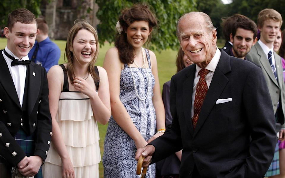 The Duke of Edinburgh will be remembered almost as much for his wit as his service
