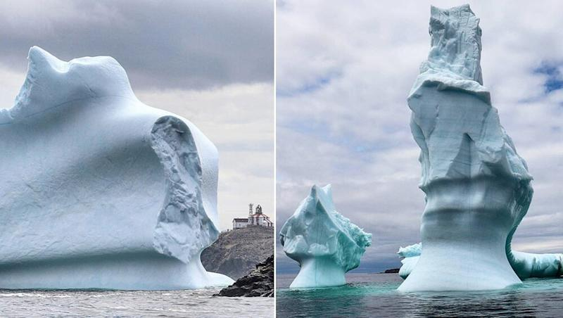 Giant 'Iceberg Alley' Floats Through Canada's Newfoundland Coast, View Gorgeous Pics of the 150-Foot Ice Mass