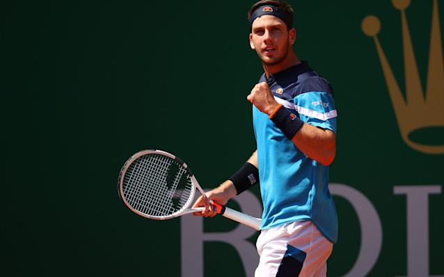 World No56 Norrie has advanced to the last 16 of the Monte Carlo Masters - Getty Images Europe