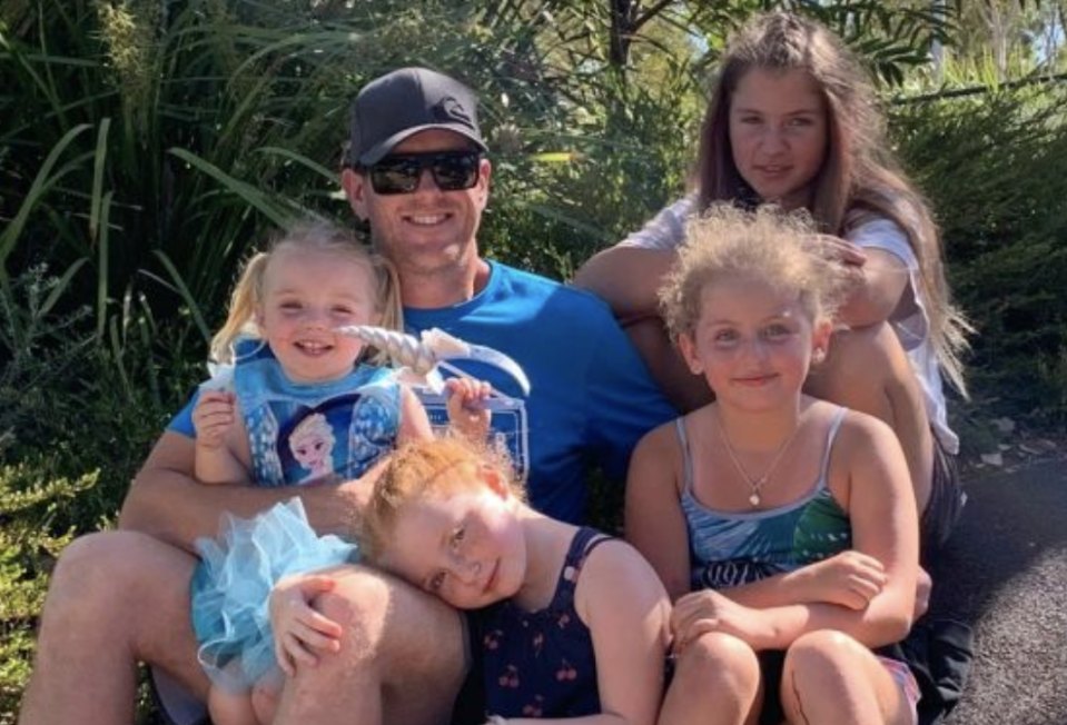Rylee's dad and three older sisters are mourning the loss of the toddler. Source: GoFundMe