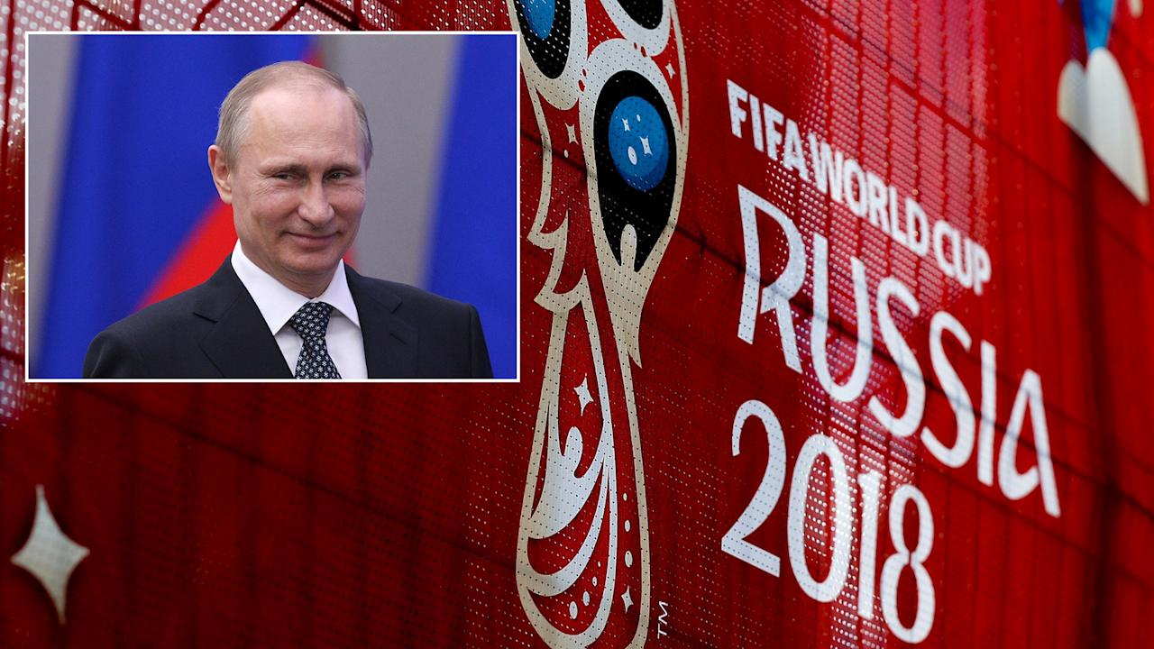 Vladimir Putin shuts down talk of a sex ban between Russian women and World Cup tourists